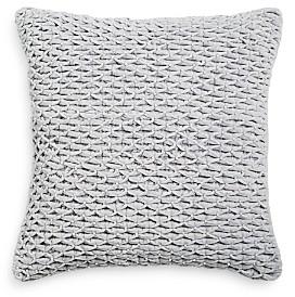 Sky Ikat Floral Decorative Pillow, 18 x 18 - 100% Exclusive