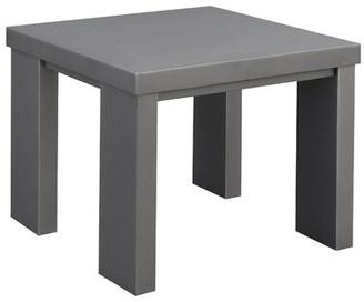 Vanzandt Aluminum Framed End Table Orren Ellis