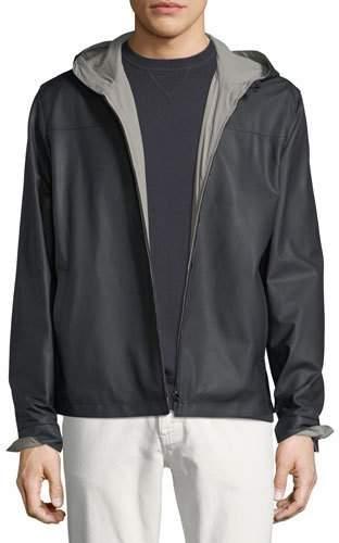 Loro Piana Waterfront Reversible Hooded Bomber Jacket