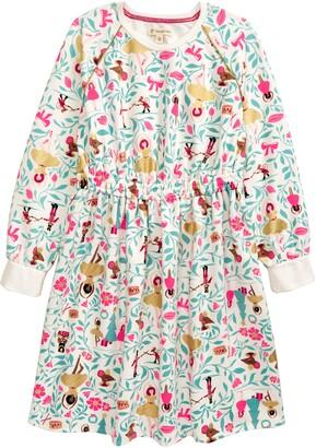 Tucker + Tate Kids' Print Long Sleeve Dress