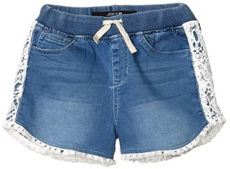 Joe's Jeans Jogger Shorts w/ Crochet Hem (Big Kids) (Lichen) Girl's Shorts