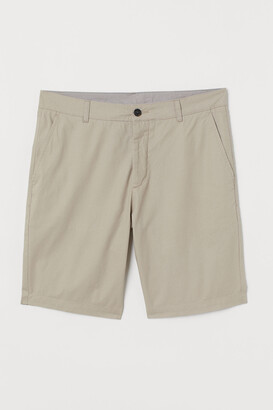 H&M Knee-length Cotton Shorts
