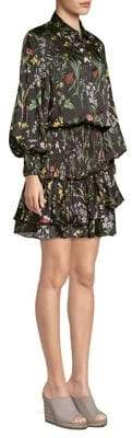 Alexis Rianna Smocked Floral Dress