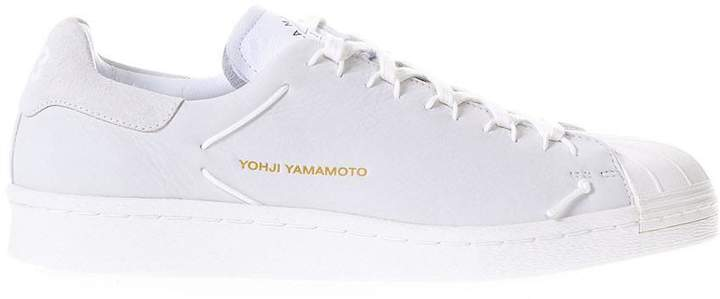 Y-3 Knot White Leather Sneakers