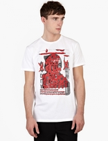 Marc Jacobs X Bäst White Cotton Printed T-Shirt