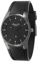 Kenneth Cole Men's Black & Gunmetal-Tone Watch