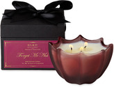 D.L. & Co. Forget Me Not Etched Scallop Candle (10 OZ)