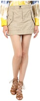 DSQUARED2 Cotton Twill Hiapo Mini Skirt