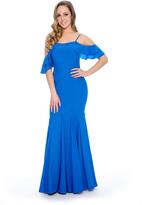 Decode 1.8 184081 Strappy Cold Shoulder Mermaid Dress
