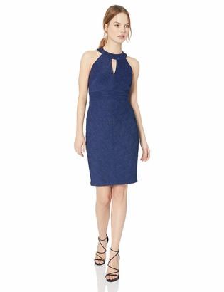 Eliza J Women's Halter Neck Sheath Dress