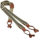Geoffrey Beene Men's Chevron Stripe Suspender
