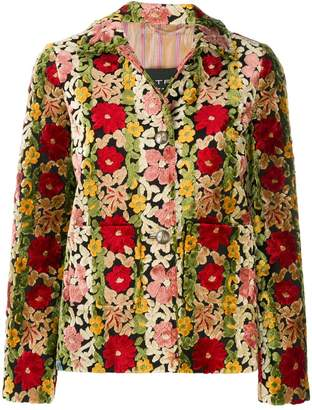 Etro floral embroidered jacket