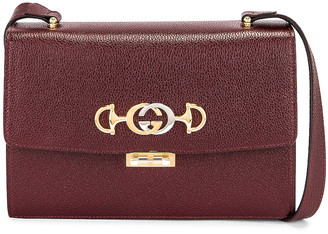 Gucci Zumi Box Shoulder Bag in Vintage Bordeaux | FWRD