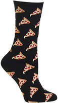 Hot Sox Pizza Print Socks