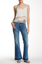 7 For All Mankind Tailorless Ginger Released Hem Flare Jean