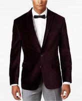 Ryan Seacrest Distinction Men's Slim-Fit Purple Velvet Evening Jacket, Only at Macy's