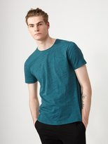 Frank + Oak Melange Loose Fit T-Shirt in Balsam