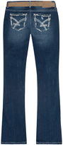 Amethyst Jeans Blue Cindy Belted Slim Regular Bootcut Jeans - Plus