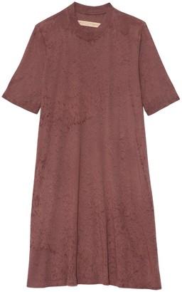Raquel Allegra Mod Dress in Blush Tie Dye