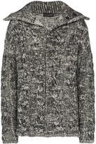 Martin Diment marled cable-knit cardigan