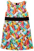 Milly Minis Ribbon Waistband Dress (Toddler & Little Girls)