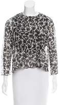 Hache Printed Long Sleeve Top