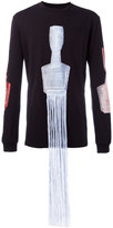 Cottweiler fringes detail sweatshirt
