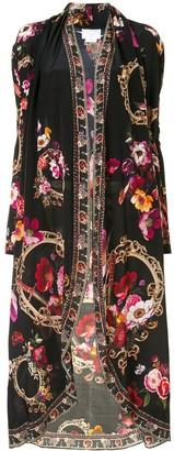 Camilla Lightweight Long Silk Jacket
