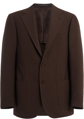 Ring Jacket Wool Longline Blazer