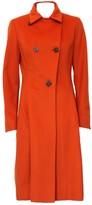 Loro Piana Orange Cashmere Coat for Women