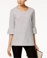 Alfani Ruffle-Sleeve Top, Only at Macy's