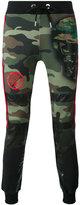 Philipp Plein Raitaro track pants - men - Cotton/Polyester/Polyurethane - XL