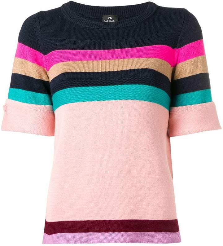 Paul Smith striped knitted T-shirt
