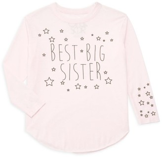 Chaser Girl's Best Big Sister Tee
