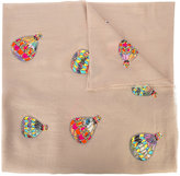 Janavi hot-air balloon scarf - women - Merino - One Size