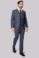 Ermenegildo Zegna Cloth Regular Fit Blue Semi Plain Suit