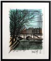 RoGallery La Seine by Bernard Buffet (Framed Lithograph)