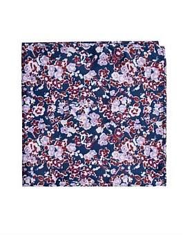 Geoffrey Beene Floral Pocket Square