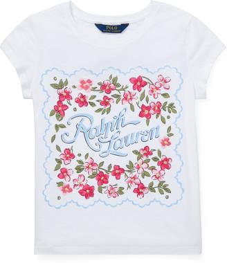 Ralph Lauren Cotton Jersey Graphic Tee