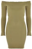 Topshop Bardot Frill Dress