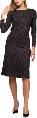 AERIN Wool-Blend Dress
