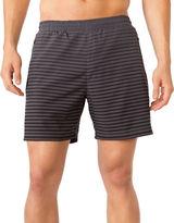 MPG Kilowatt Striped Run Shorts