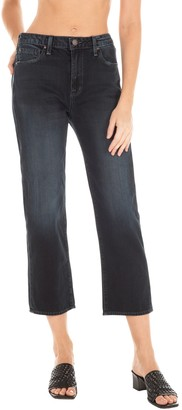 Fidelity Taylor High Rise Cropped Straight Leg Jeans