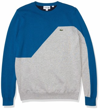 Lacoste Men's Sport Colorblock Crewneck Golf Sweater