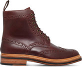 Grenson Fred Commando Leather Boots