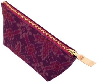 General Knot & Co Vintage Jaipur Silk Travel Clutch