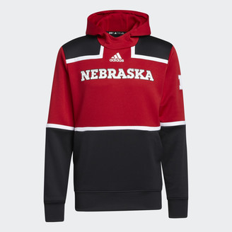 adidas Cornhuskers Under the Lights Pullover Hoodie