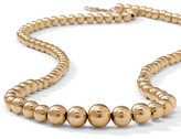 Gold Beaded Necklace 17