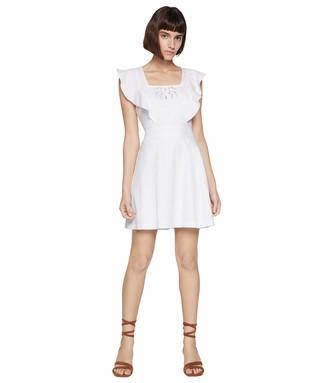 BCBGeneration Women's Embroidered Apron Dress
