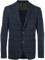 Tonello plaid single breasted blazer